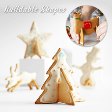 Load image into Gallery viewer, 3D Christmas Cookies Mold (Set of 8)