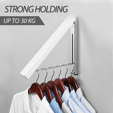 Load image into Gallery viewer, Foldable Wall-mounted Laundry Hanger