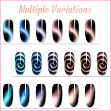 Load image into Gallery viewer, Magnetic Cat Eye Nail Art Kit