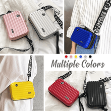 Load image into Gallery viewer, Stylish Mini Suitcase Crossbody Clutch