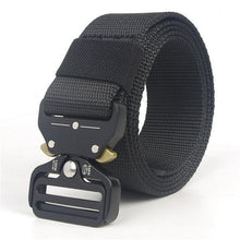 Load image into Gallery viewer, Military Style Tactical Canvas Belt