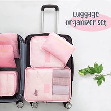 Load image into Gallery viewer, Luggage Packing Organizer (Set of 6)