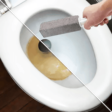 Load image into Gallery viewer, Toilet Cleansing Pumice Stone Wand - esfranki