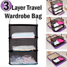 Load image into Gallery viewer, 3-Layer Travel Wardrobe Bag - esfranki
