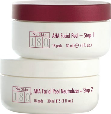 Nu Skin 180 AHA Facial Peel and Neutralizer