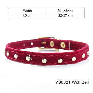 Cat Collar With Bell Safety