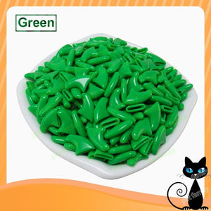 Newest color  20pcs/lot Pet Nail Soft Claws Nail Cap
