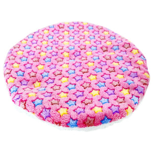 Colorful Print Pet Bed