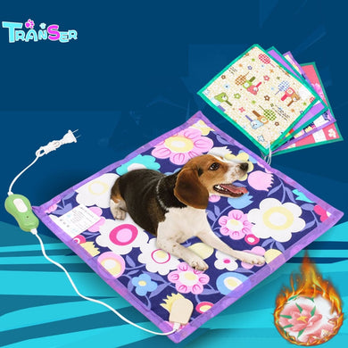 2019 Transer Creative Hot! 40*40cm Pet Warm Electric Heat Heated Pad Mat Blanket Bed Dog CatDrop Shipping D6m30 P40