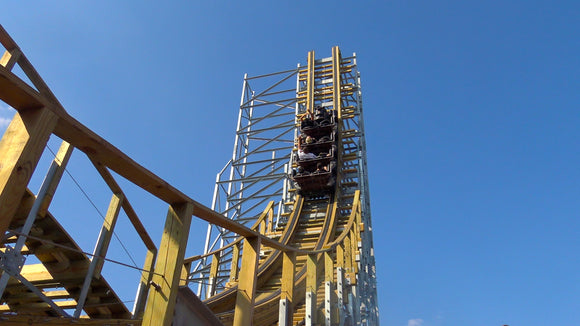 Switchback Roller Coaster at ZDT's Amusement Park