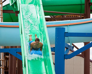 Viper mat racer water slide at ZDT's Amusement Park