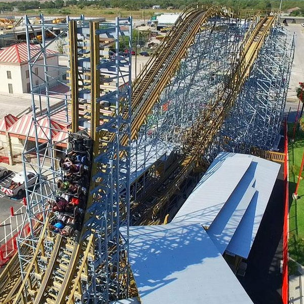 ZDT's Amusement Park overview highlighting Switchback roller coaster.