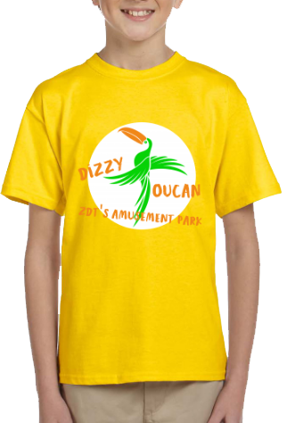 Dizzy Toucan Youth T-Shirt