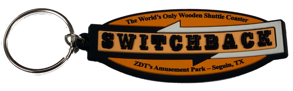 Switchback Keychain