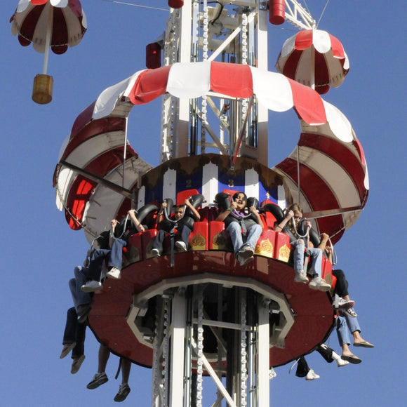 parachute drop tower