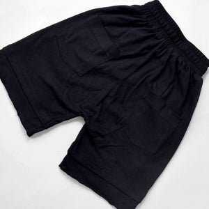 LAYERED SHORTS - BLACK