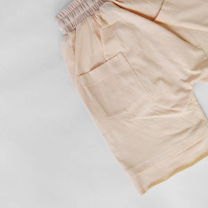 LAYERED SHORTS - NUDE