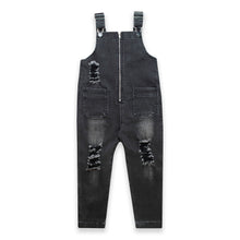 Load image into Gallery viewer, DENIM DUNGAREES