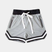 Load image into Gallery viewer, MESH BALLER SHORTS - GREY