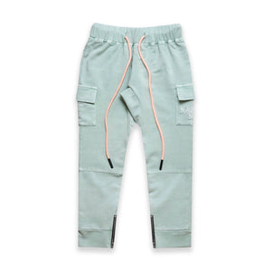 CARGO JOGGER PANTS - ACID BLUE