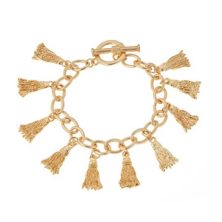 Tassels Calypso Bracelet - chelsea-the-collection