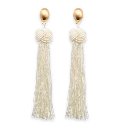 Ivory Oasis Earrings - chelsea-the-collection