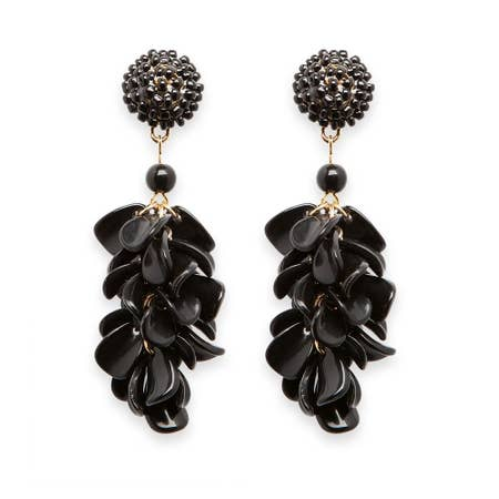 Black Sawyer Earrings - chelsea-the-collection