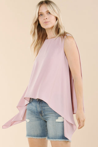 Love You Like A Love Song - Asymmetrical Top - chelsea-the-collection