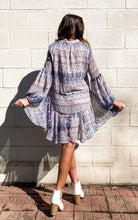 Load image into Gallery viewer, Faded Memories - Border Print Drawstring Dress