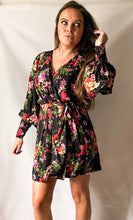 Load image into Gallery viewer, Just An Old Fashioned Love Song - Floral Print Wrap Dress