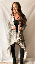 Load image into Gallery viewer, Morgan - Tassel Fringe Cardigan