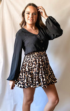 Load image into Gallery viewer, Have You Seen Her - Ruffle Skirt Leopard Print Romper