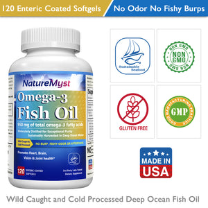 NatureMyst Omega 3 Fish Oil