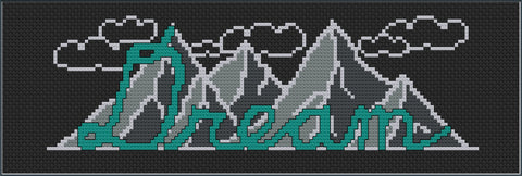 Free dream cross stitch pattern