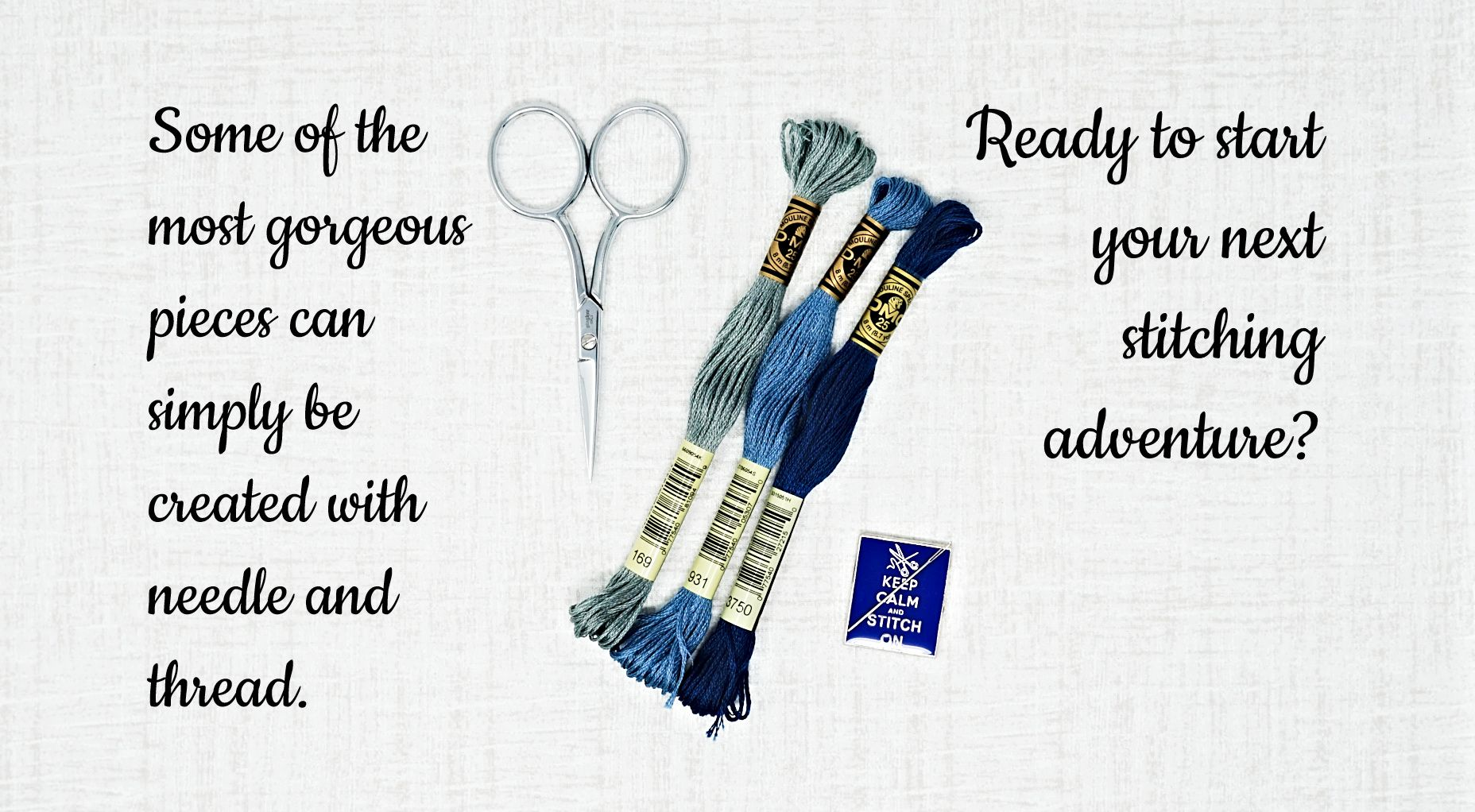 Start next cross stitch pieces with patterns and accessories found on the Thread Maniac Designs site