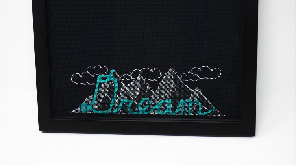 Dream free cross stitch pattern model stitch