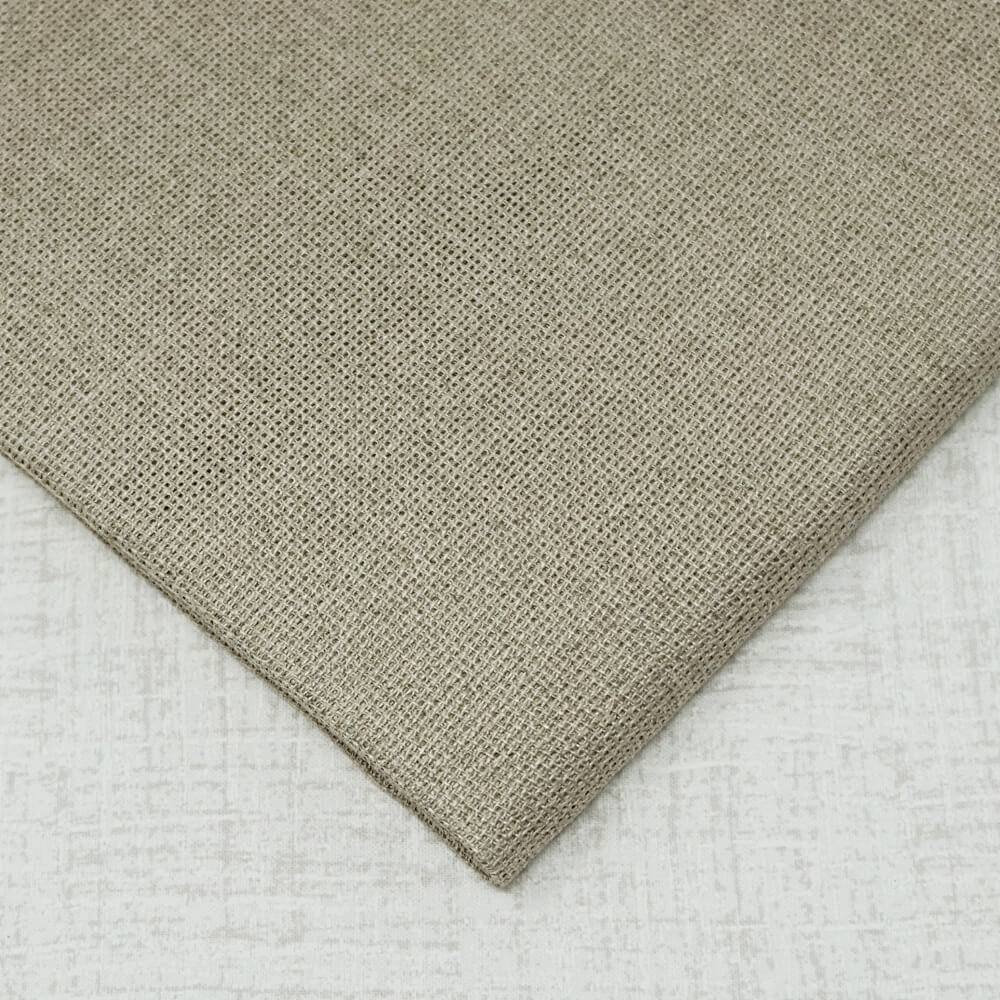 18 count raw linen aida embroidery fabric
