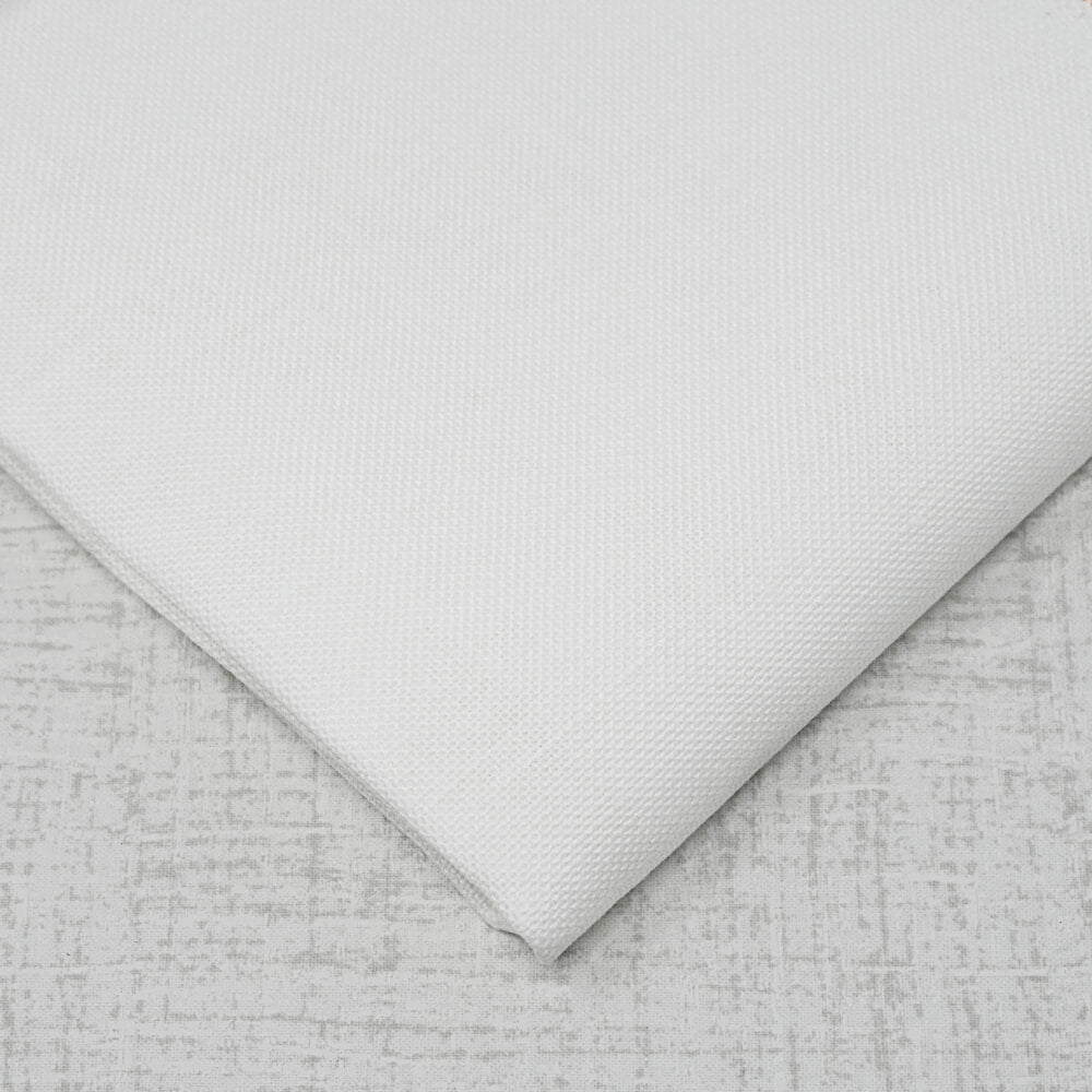 28 count white linen embroidery fabric
