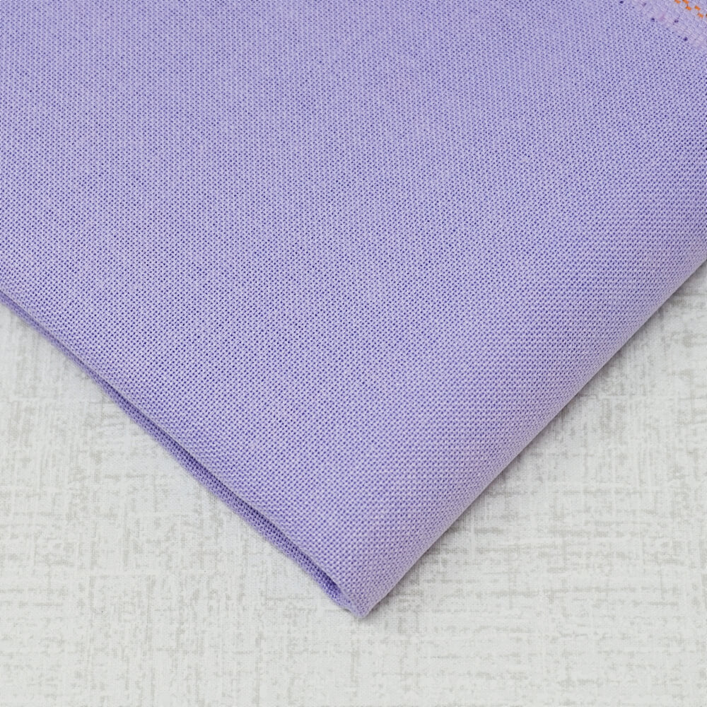 32 Count Lavender Lugana embroidery fabric