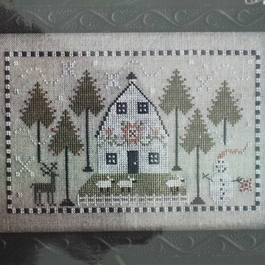 A Country Winter counted cross stitch pattern