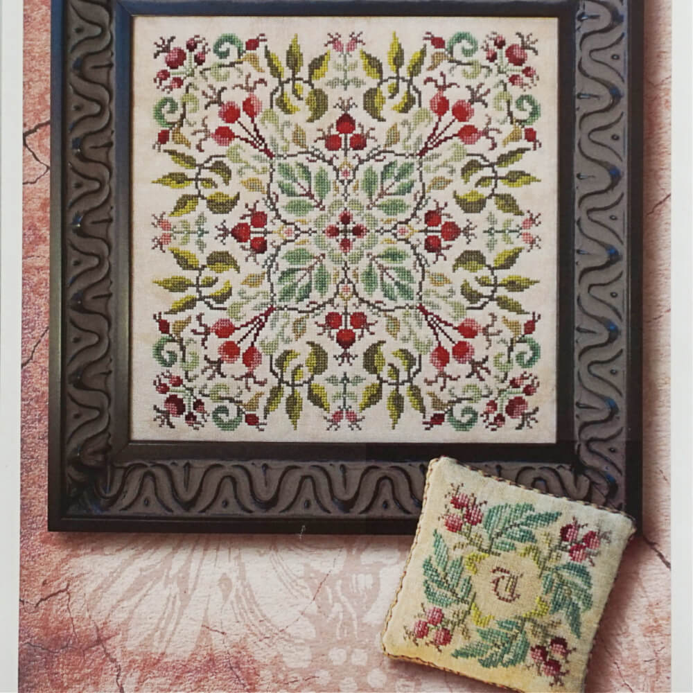 After the Roses counted cross stitch chart pack