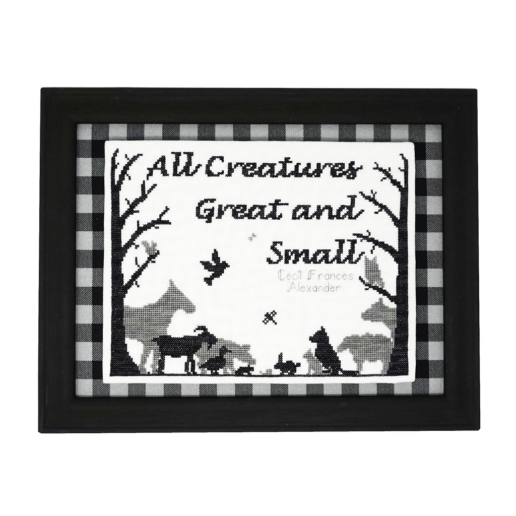 All Creatures Cross Stitch Pattern