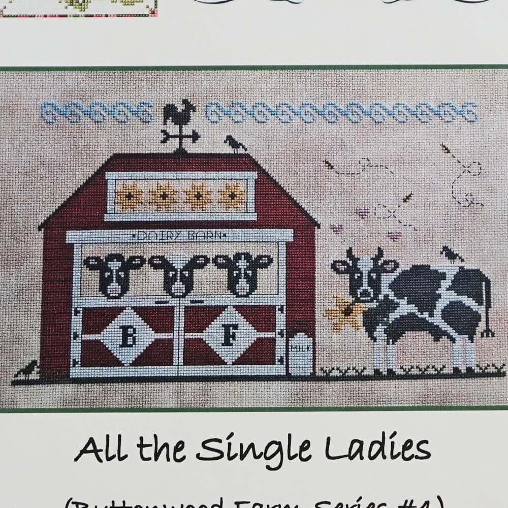 All the Single Ladies counted cross stitch pattern
