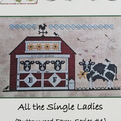 All the Single Ladies Cross Stitch Pattern | Vintage NeedleArts
