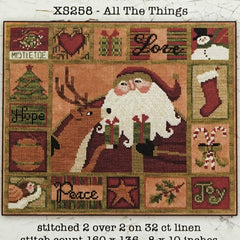 All The Things Cross Stitch Pattern | Teresa Kogut