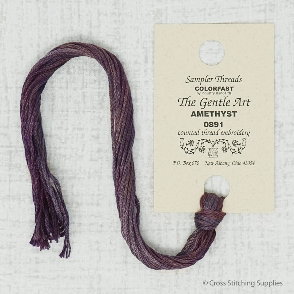 The Gentle Art Amethyst embroidery thread