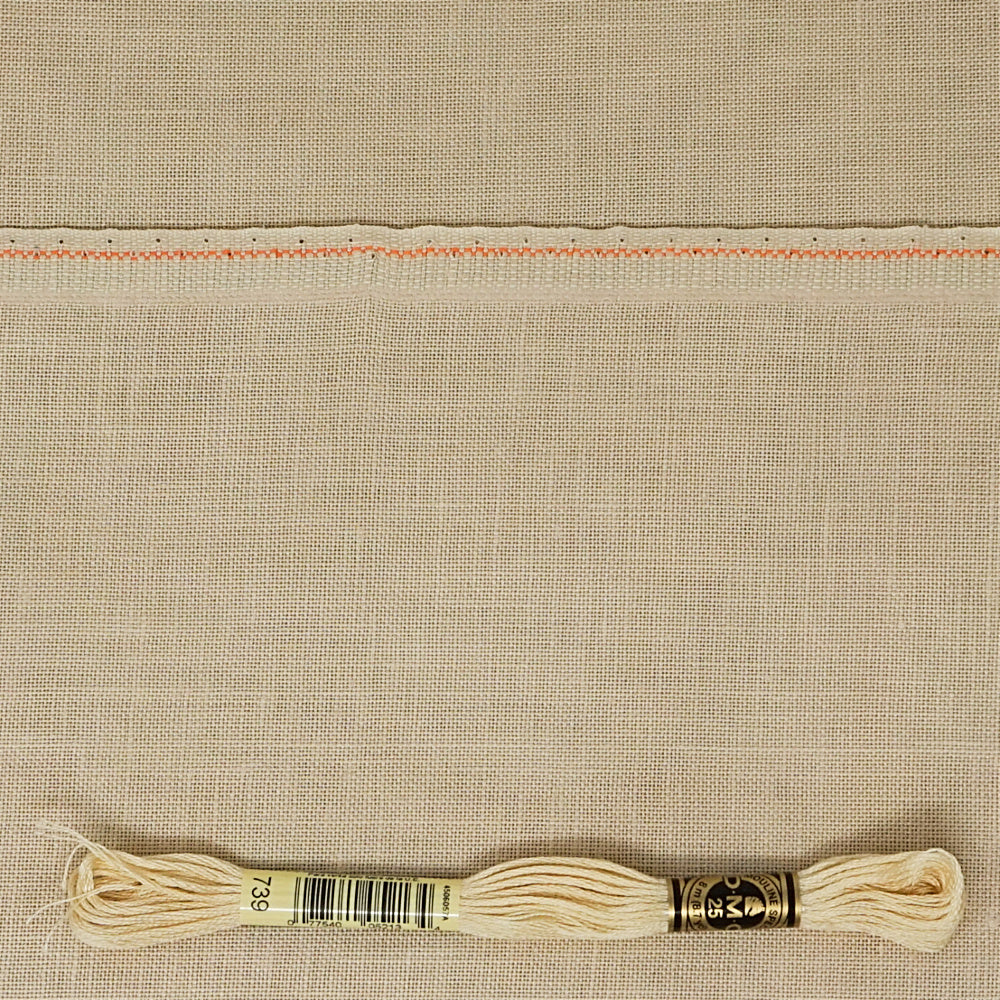 Antique Ivory 36 count edinburgh linen from Zweigart for cross stitch