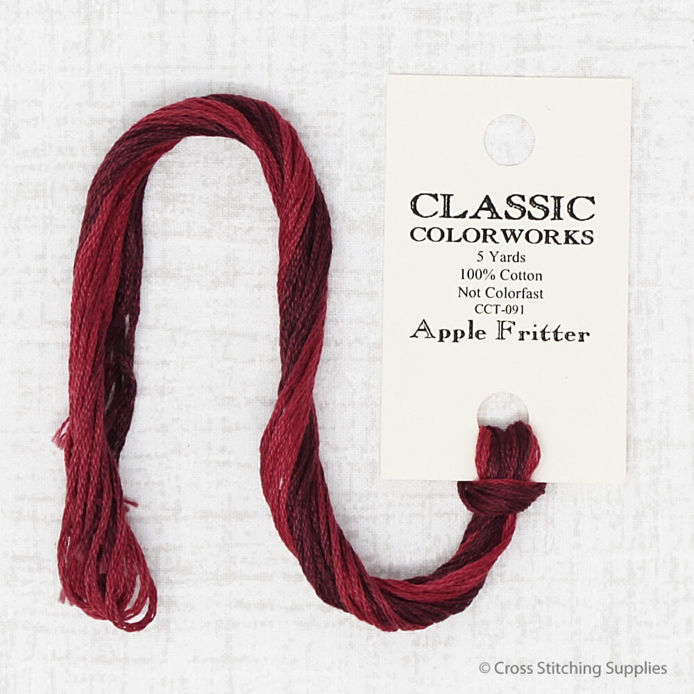 Apple Fritter Classic Colorworks embroidery thread