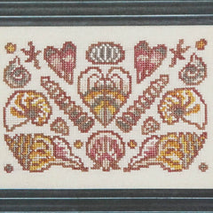 Arranging Seashells Cross Stitch Pattern | Ink Circles