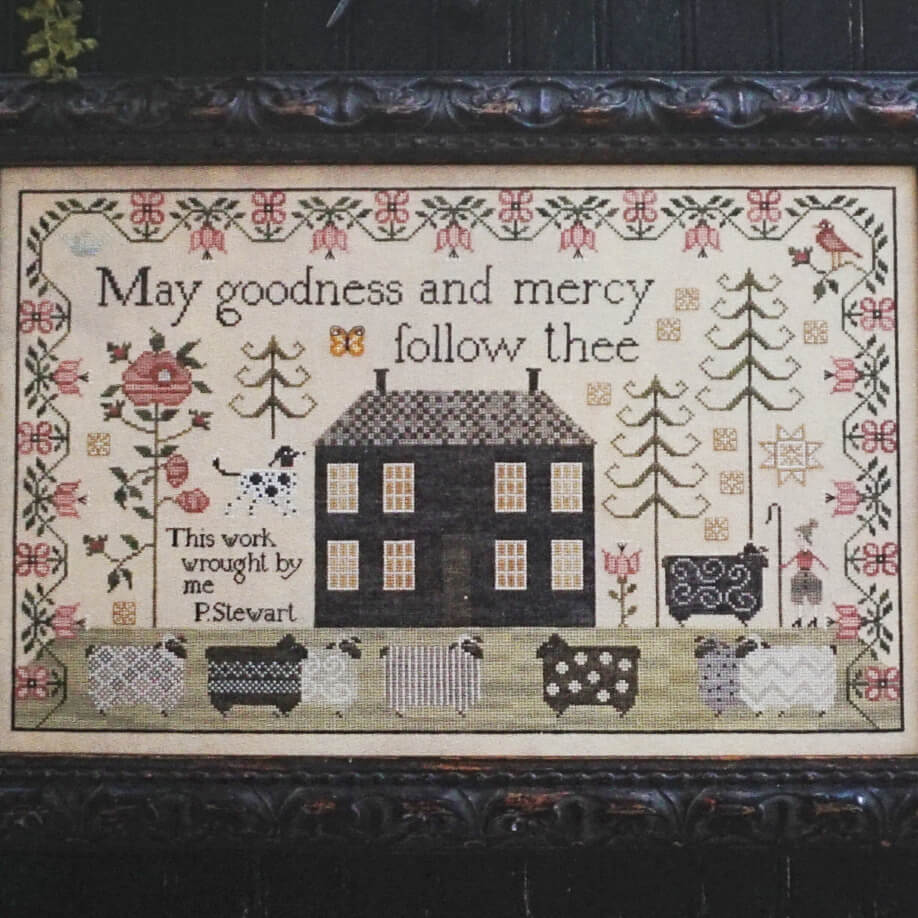 A Shepherd's Song counted cross stitch pattern